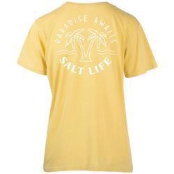 Juniors Paradise Awaits Boyfriend T-Shirt