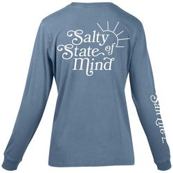 Salt Life Juniors Salty State Of Mind Crew Neck Top