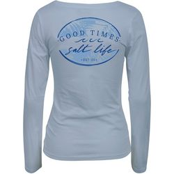Juniors Good Times Long Sleeve Top