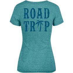 Salt Life Juniors Road Trip V- Neck T-Shirt