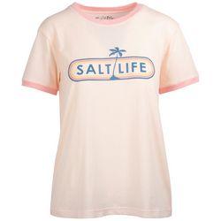 Salt Life Juniors Salt Company Boyfriend T-Shirt