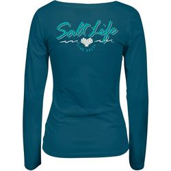 Salt Life Juniors Heart Life Long Sleeve Top