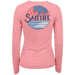 Salt Life Juniors Long Sleeve Horizon T-Shirt