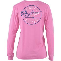 Salt Life Juniors Salty Hour Long Sleeve T-Shirt