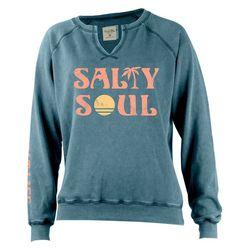 Juniors Salty Soul Sweatshirt