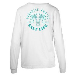 Salt Life Juniors Paradise Awaits Long Sleeve Top