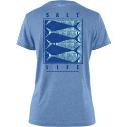 Salt Life Juniors Optic Fish Boyfriend Sunburnt T-Shirt