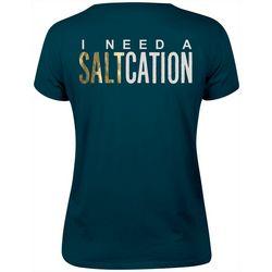 Salt Life Juniors I Need A Saltcation Graphic T-Shirt