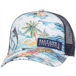 Salt Life Juniors Boat Life Trucker Hat