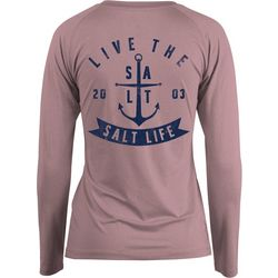 Salt Life Juniors Ventura Long Sleeve Performance Top