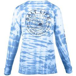 Salt Life Juniors Tie Dye Long Sleeve Top