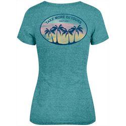 Salt Life Juniors Take More Detours Heathered Knit T-Shirt