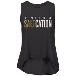 Salt Life Juniors I need A Saltcation Tank Top