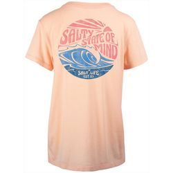 Salt Life Juniors Sunny State Boyfriend Sunburnt T-Shirt