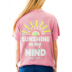 Kindness & Confetti Juniors Sunshine On My Mind T-Shirt