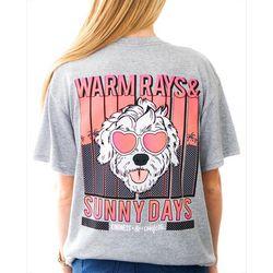 Kindness & Confetti Juniors Warm Rays Sunny Days T-Shirt