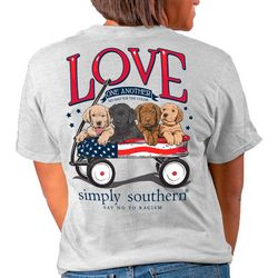 Simply Southern Juniors Love One Another T-Shirt