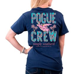 Simply Southern Juniors Pogue Crew T-Shirt