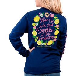 Simply Southern Juniors Kindness Long Sleeve T-Shirt