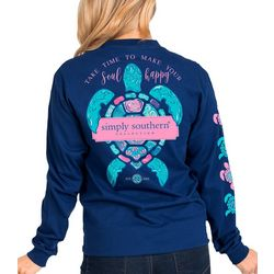 Simply Southern Juniors Make Your Soul Happy Long Sleeve Top