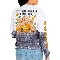 Simply Southern Juniors Give Them Pumpkin T-Shirt