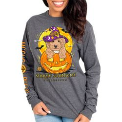 Simply Southern Juniors Long Sleeve Hocus Pocus T-Shirt