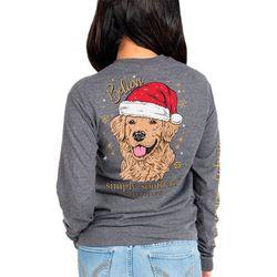 Big Girls Believe Dog Crew Neck T-Shirt