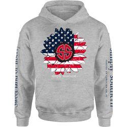 Simply Southern Juniors Fleece Americana Hoodie