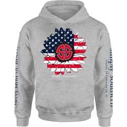 Juniors Fleece Americana Hoodie