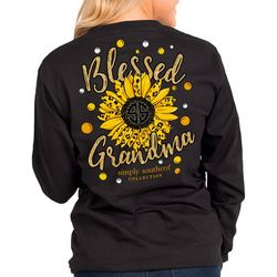 Simply Southern Juniors Grandma Long Sleeve Top