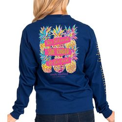 Simply Southern Juniors She Believed Long Sleeve Top