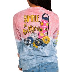 Simply Southern Juniors Sksksk Long Sleeve Top
