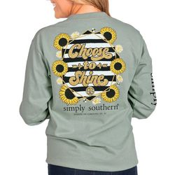 Simply Southern Juniors Shine Long Sleeve Top