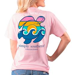 Simply Southern Juniors Save The Ocean Club T-Shirt