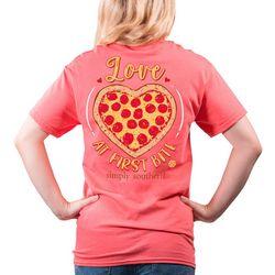 Juniors Love At First Bite T-Shirt