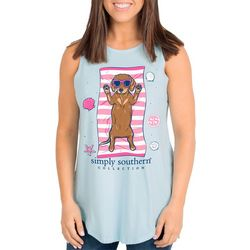 Simply Southern Juniors Dachshund Tank Top