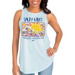 Simply Southern Juniors Salty Vibes Tank Top