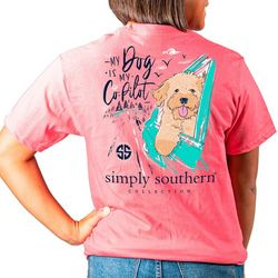 Simply Southern Juniors My Dog Is My Co-Pilot T-Shirt