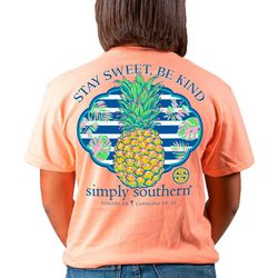 Simply Southern Juniors Stay Sweet T-Shirt