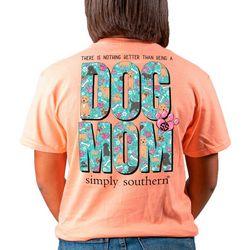 Juniors Dog Mom T-Shirt
