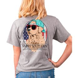 Simply Southern Juniors Land Of The Free T-Shirt