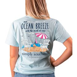 Simply Southern Juniors Ocean Breeze T-Shirt