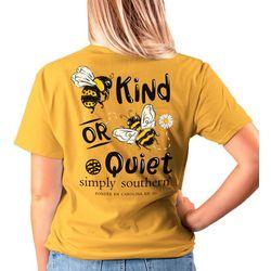 Juniors Bee Kind T-Shirt