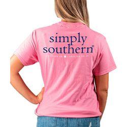 Juniors Simply Southern Logo T-Shirt