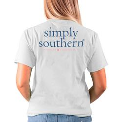Juniors Simply Southern Logo T-Shirt