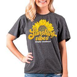 Juniors Sunshine Vibes T-Shirt