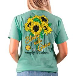 Juniors Bloom With Grace T-Shirt