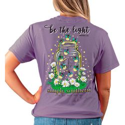Simply Southern Juniors Be The Light T-Shirt