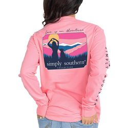 Simply Southern Juniors Love Long Sleeve Top