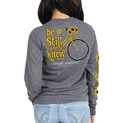 Simply Southern Juniors Still Long Sleeve Top